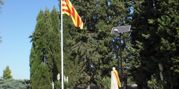 Monument al President Lluís Companys del Tarròs