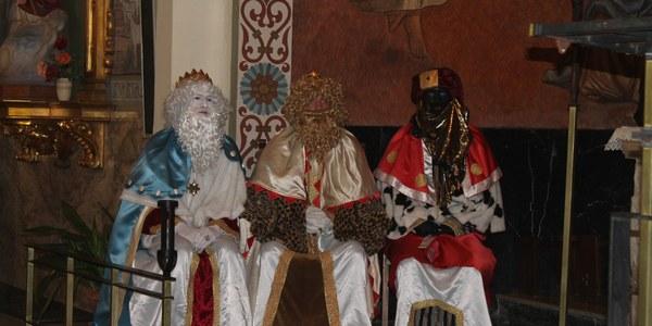 Rebuda de la Comitiva Reial i Cavalcada al Tarròs