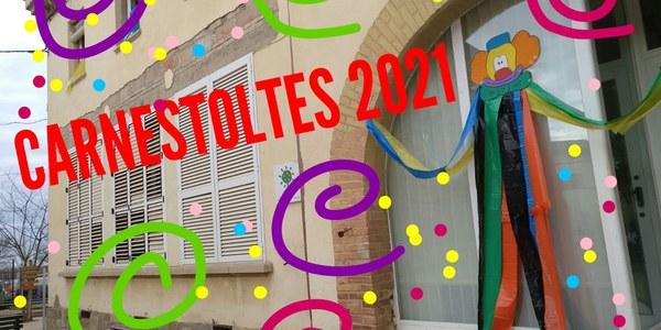 Carnestoltes 2021 a l'escola Espígol