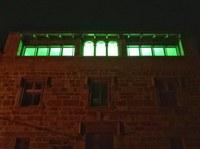L'Ajuntament de Tornabous es tenyeix de verd en suport al Dia Mundial contra el Càncer.