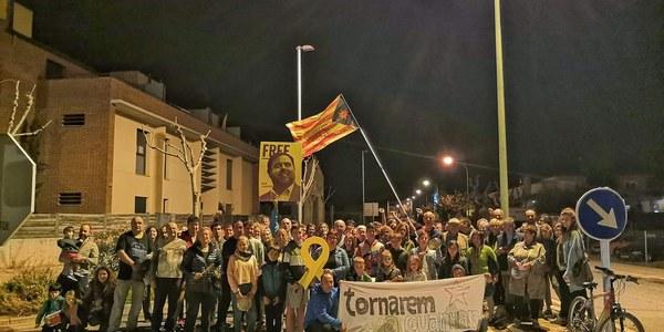 Mobilització contra la resolució dels veïns del municipi de Tornabous