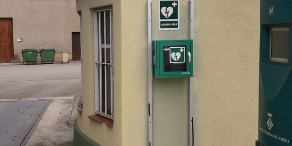 Tornabous municipi cardioprotegit, ha ubicat dos nous equips DEA