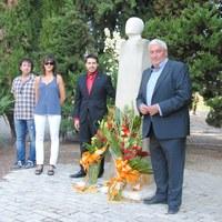 Actes de l'11 de setembre al Monument Lluís Companys del Tarròs. Any 2014