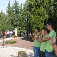 Actes de l'11 de setembre al Monument Lluís Companys del Tarròs. Any 2010 -1