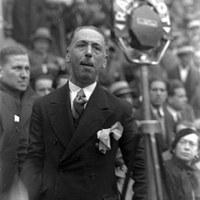 Companys, en un míting d'ERC el 1933