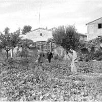 Lluís Companys als horts del Tarròs