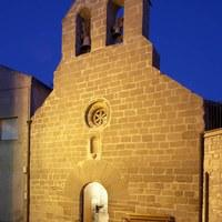 Imatge de l'església vella de la Guàrdia d'Urgell