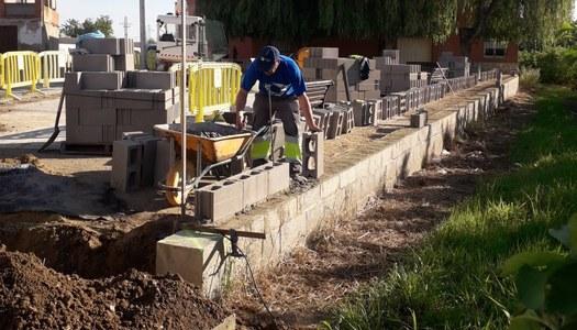 S'inicien les obres d'adequació del Parc del Roser.